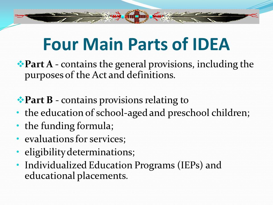 The Basic Special Education Process Child is identified as possibly needing special education and related services through Child Find.