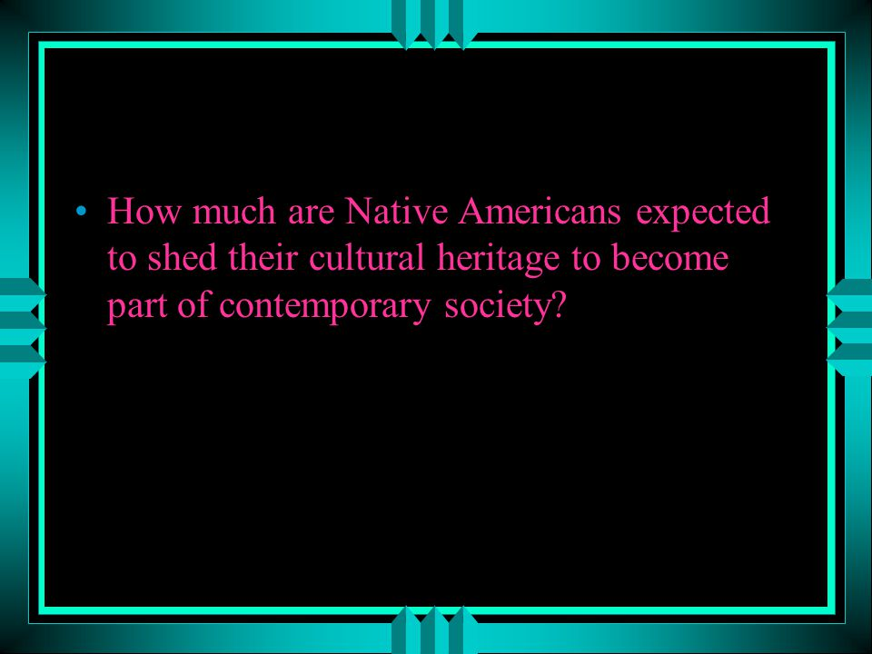 Do Casinos and other gaming outlets represent a positive force for Native American tribes today?
