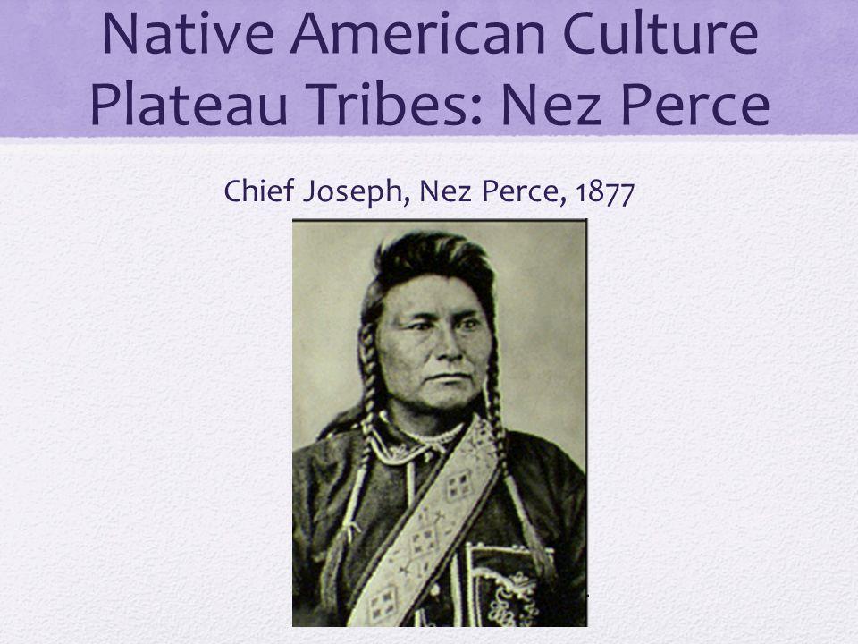 Native American Culture Plateau Tribes: Nez Perce Chief Joseph, Nez Perce, 1877