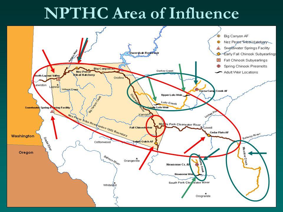 NPTHC Area of Influence