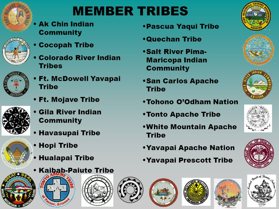 MEMBER TRIBES Ak Chin Indian Community Cocopah Tribe Colorado River Indian Tribes Ft.