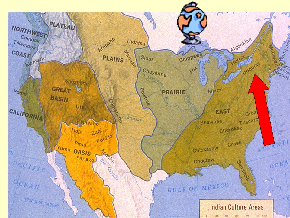NATIVE AMERICAN TRIBES BY REGION Why Did Different Native - Us map of native american tribes