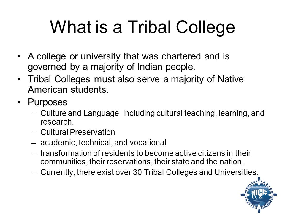 1979 Name change to Nebraska Indian Community College to reflect change in autonomy Agreement with NECC to continue services until NICC is receives accreditation