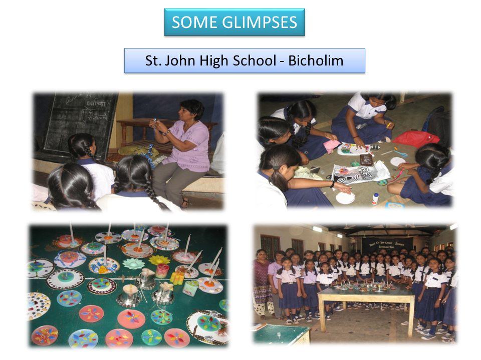 St. John High School - Bicholim SOME GLIMPSES