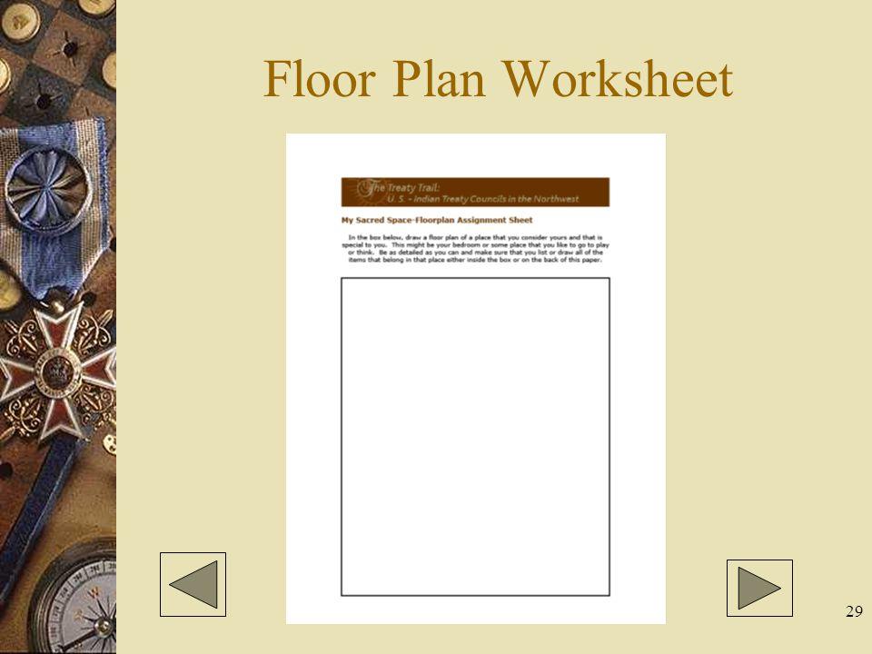 29 Floor Plan Worksheet