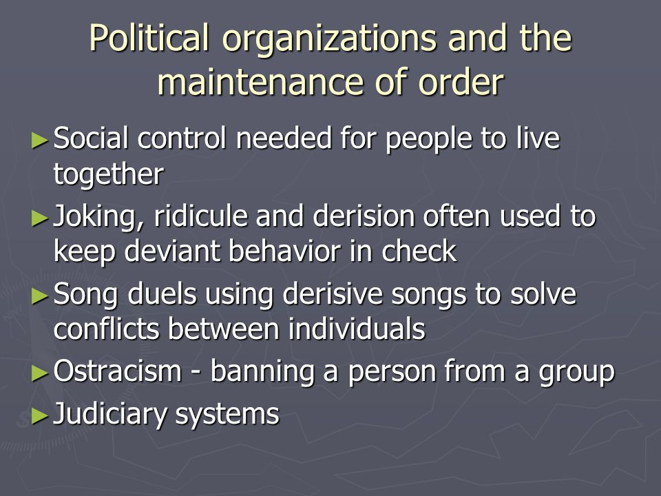 Descent Systems ► ► Rules that people in different cultures use to: ► ► determine parenthood ► ► identify ancestry ► ► assign people to social categories, groups, and roles on the basis of inherited status ► corporate = shares resources in common  own property  organize labour  assign status  regulate relations with other groups ► endures beyond individual members