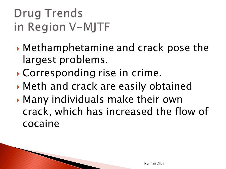 Youth Risk and Resiliency Survey, grades 9-12 2003 2005 2007 Meth use, past 30 Days 7.3% 4.6% 4.4% (ranked 3 rd in the U.S.