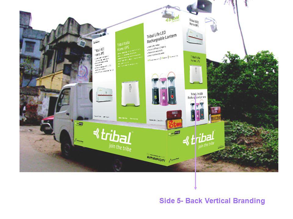 Side 5- Back Vertical Branding