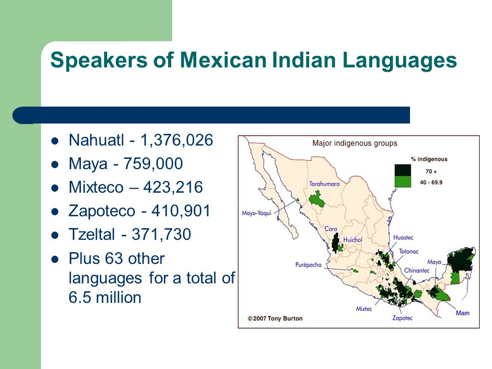 American Indian Languages Scarce Today, very few American Indians speak Native languages.