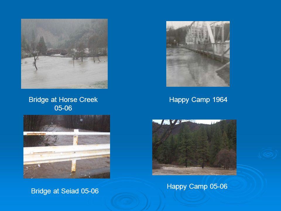 Bridge at Seiad 05-06 Happy Camp 1964Bridge at Horse Creek 05-06 Happy Camp 05-06