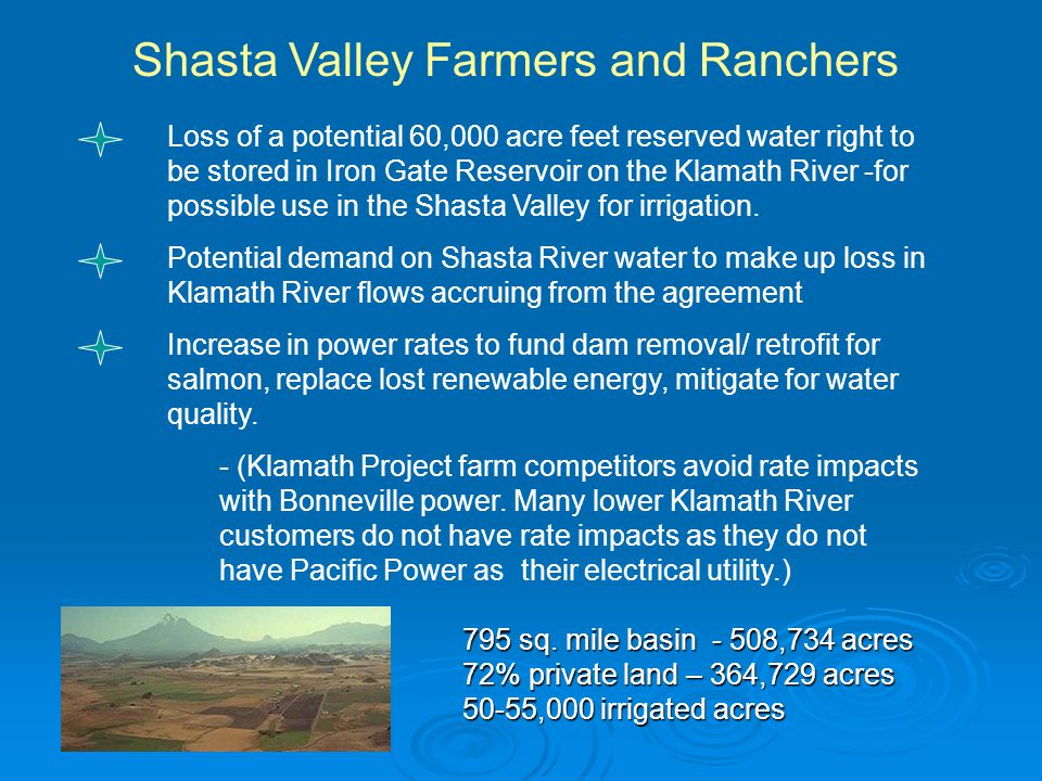 Shasta Valley Farmers and Ranchers 795 sq.