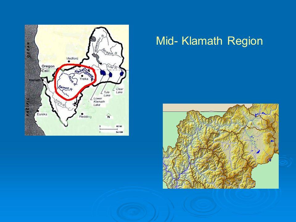 Mid- Klamath Region