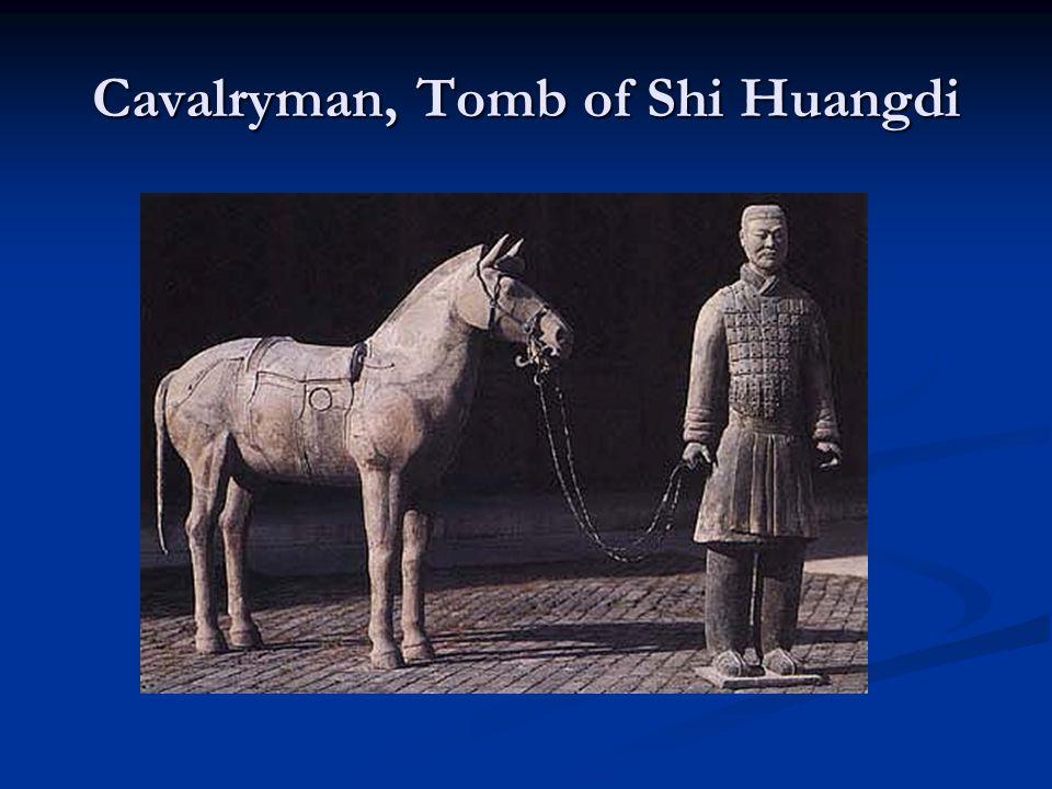 Cavalryman, Tomb of Shi Huangdi