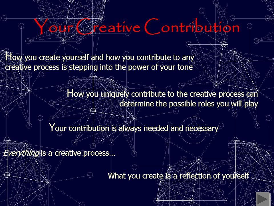 Creativity & Tone 2