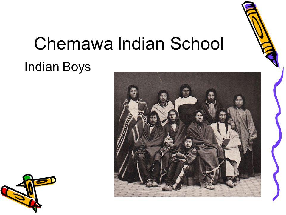 Chemawa Indian School Indian Boys