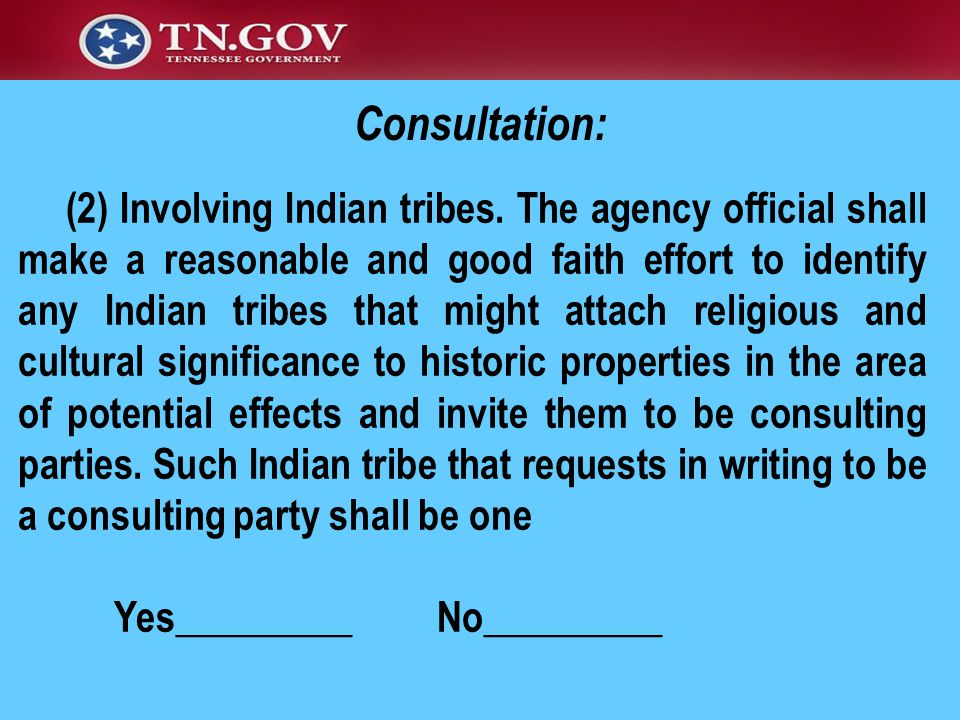 (2) Involving Indian tribes.