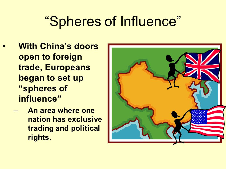China and the Open Door Policy To prevent this, President Roosevelt's Secretary of State John Hay proposed the Open Door Policy that would give all nations equal trading rights with China John Hay