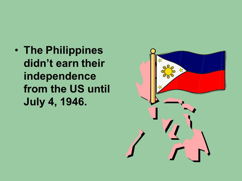 The Philippine Occupation Over the next fifteen years, around 100,000 US troops occupied the Philippines.