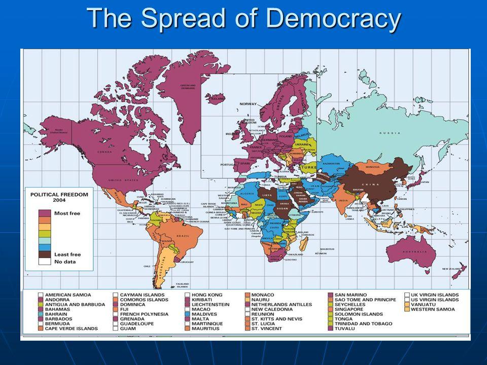 The Spread of Democracy