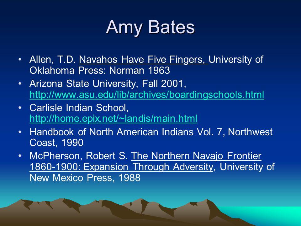 Amy Bates Allen, T.D.