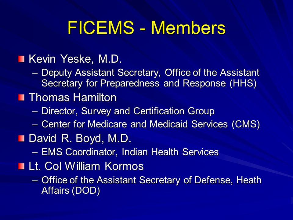 FICEMS - Members Kevin Yeske, M.D.