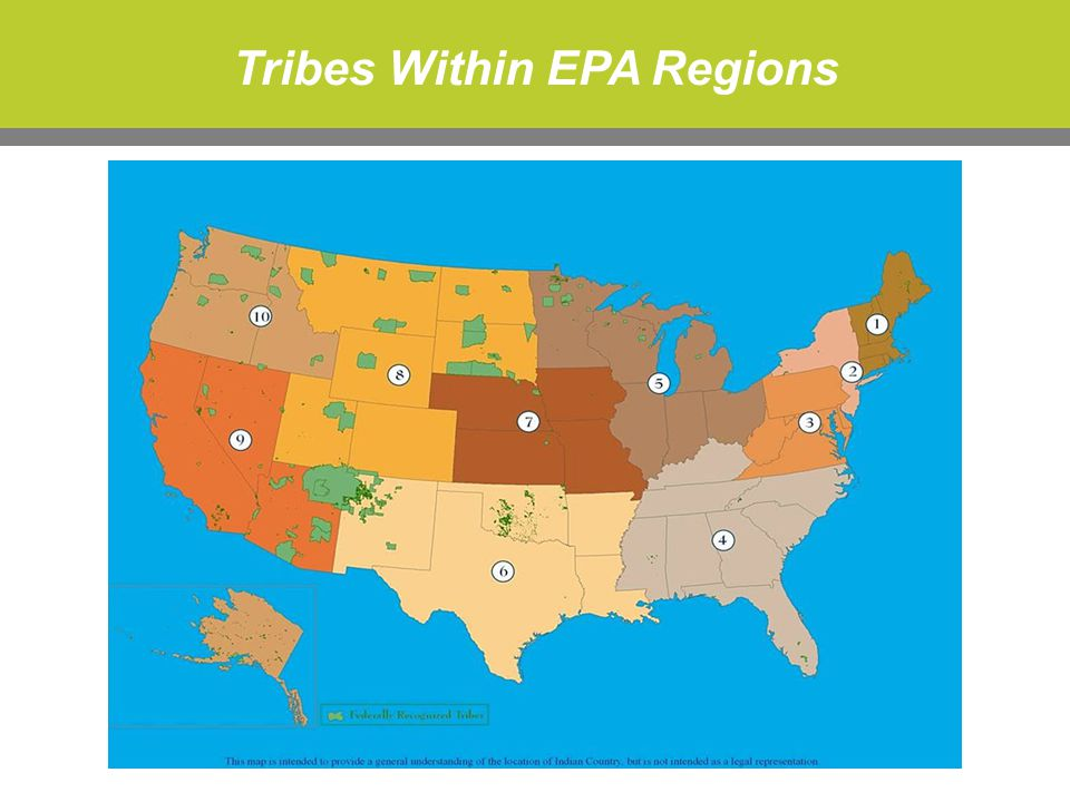 Tribes Within EPA Regions