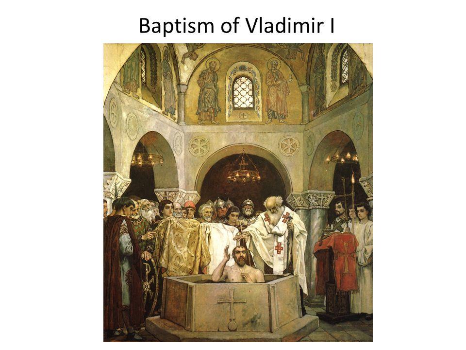 Baptism of Vladimir I
