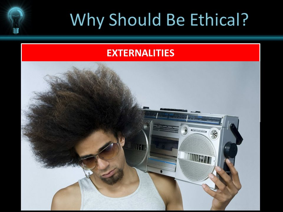 EXTERNALITIES An externality refers to the uncompensated impact of one person's actions on the well-being of a bystander.