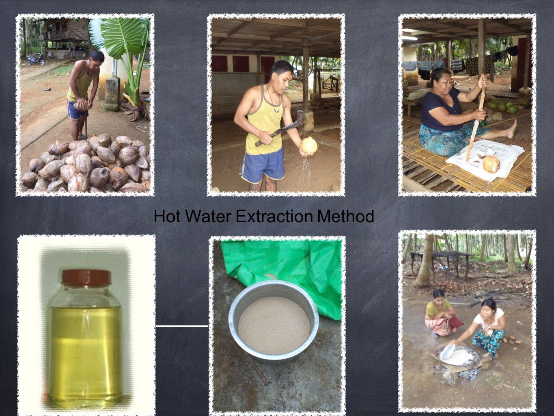 Hot Water Extraction Method