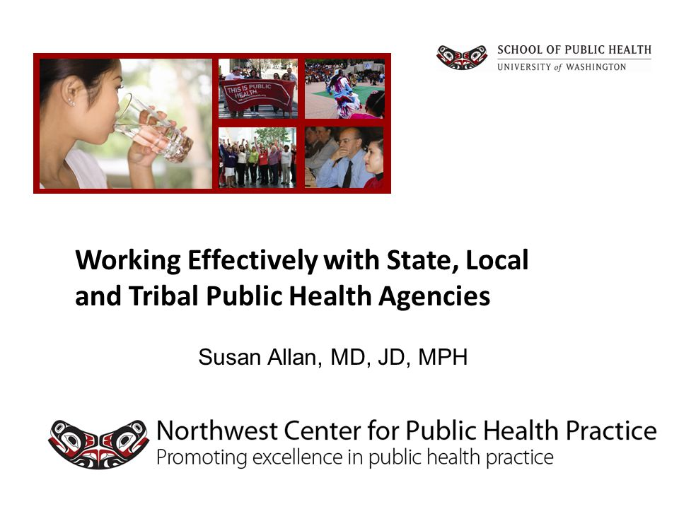 Tribal Health Department Services THDs provide more health screenings and behavioral health services than LHDs LHDs provide more environmental health and regulatory functions (e.g., food service inspections) THDs are often more integrated with the health care delivery system than LHDs