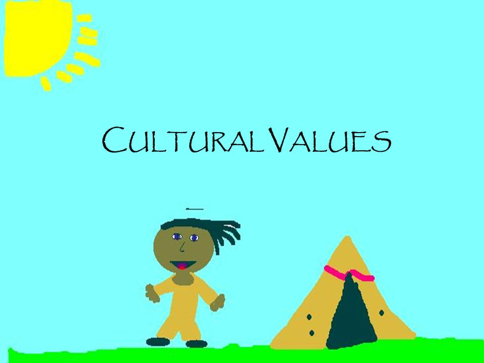 Native American (Traditional Indian Values) Non-Indian (Dominant Society Values) GROUP (take care of the PEOPLE) >>SELF ( take care of #1) TODAY is a Good Day.