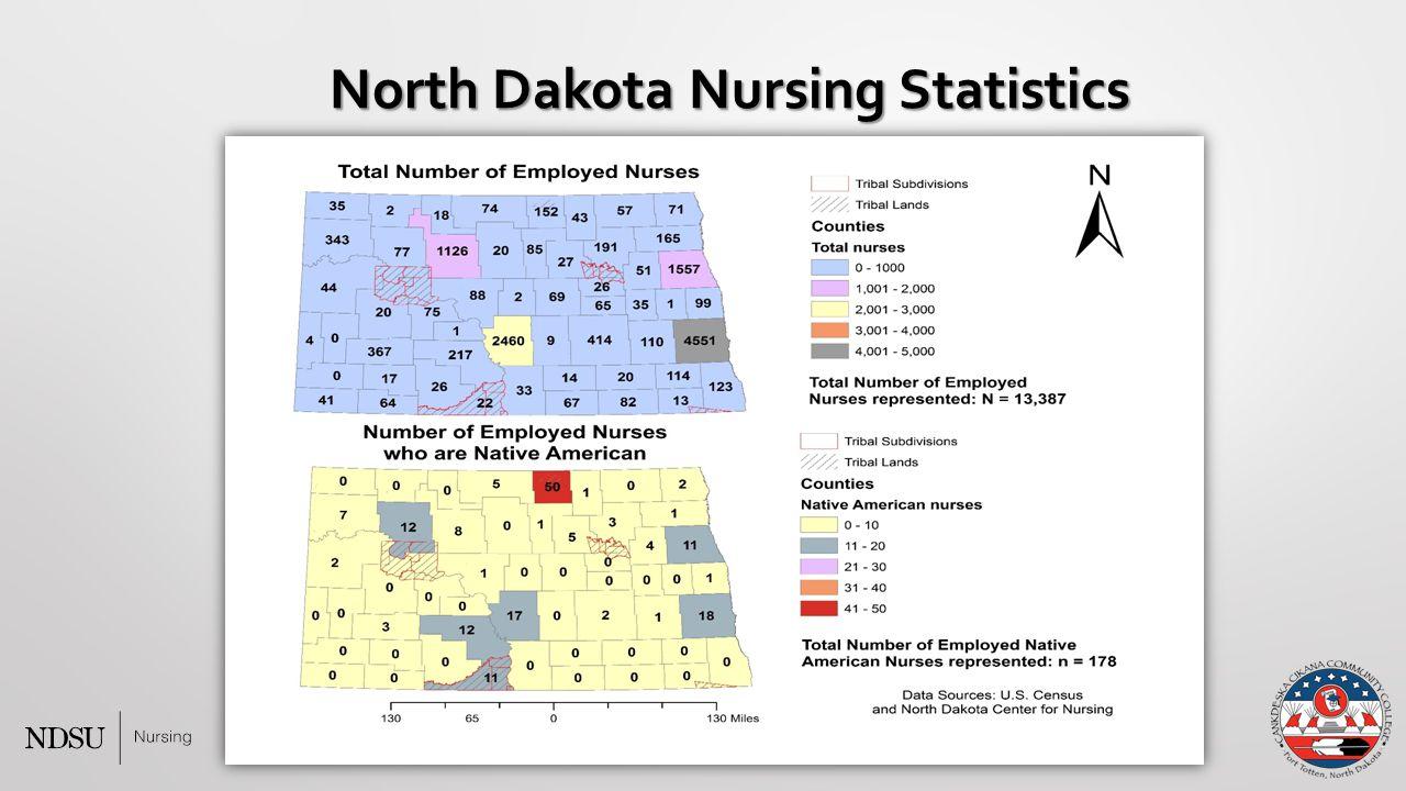 North Dakota Nursing Statistics