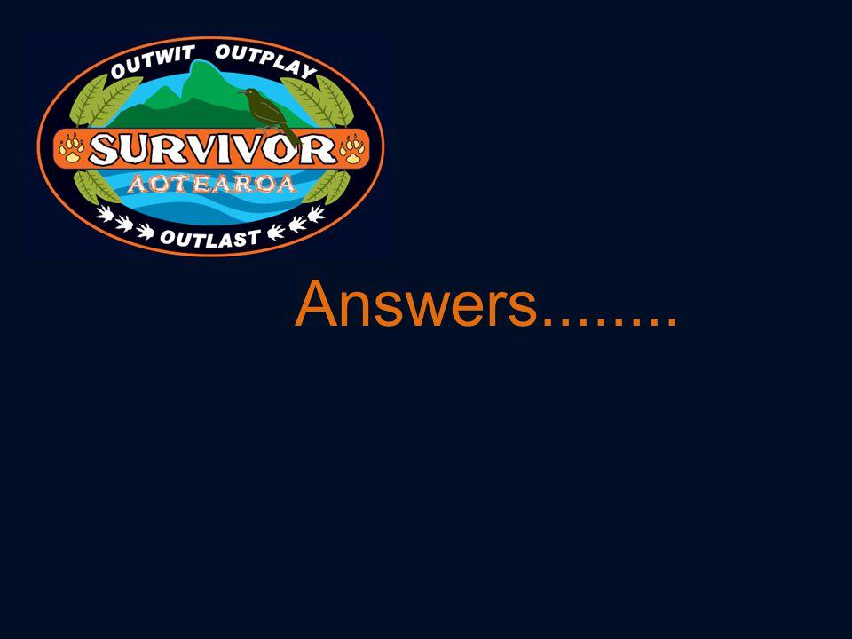 Answers........