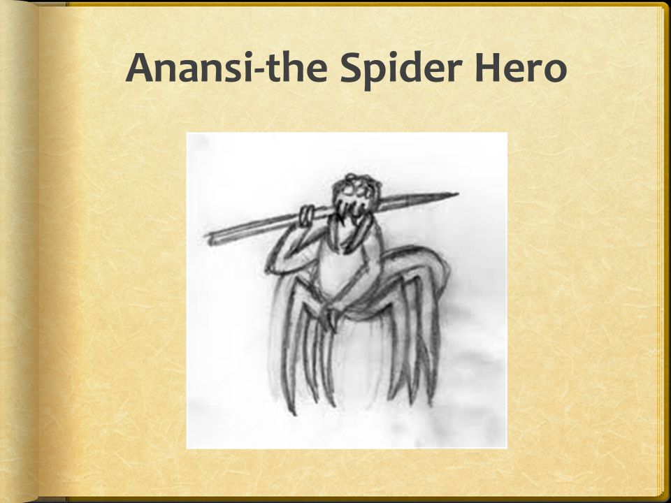 Anansi-the Spider Hero