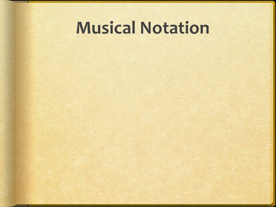 Musical Notation