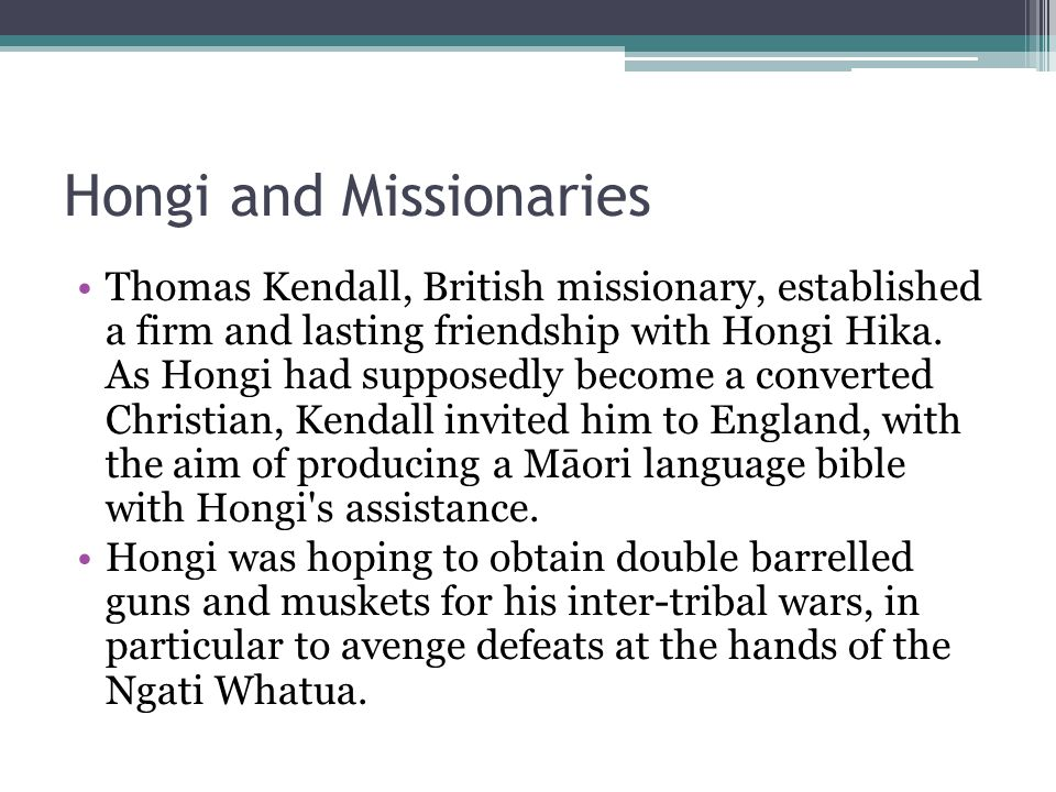 cont Hongi therefore undertook the long journey in 1820.