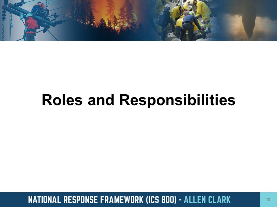 Roles and Responsibilities 18