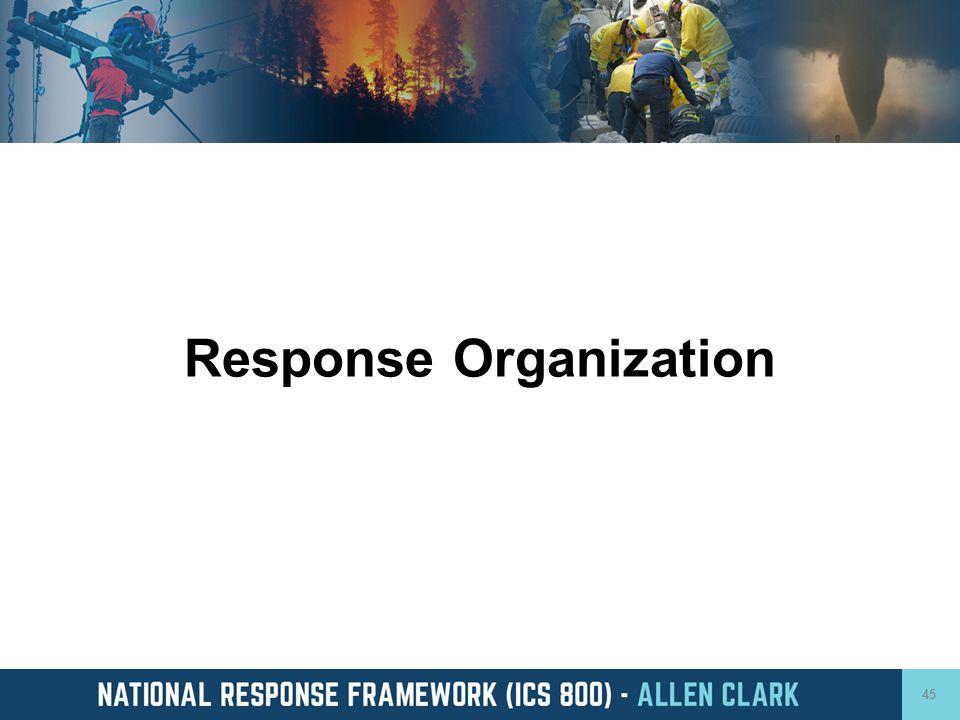 Response Organization 45