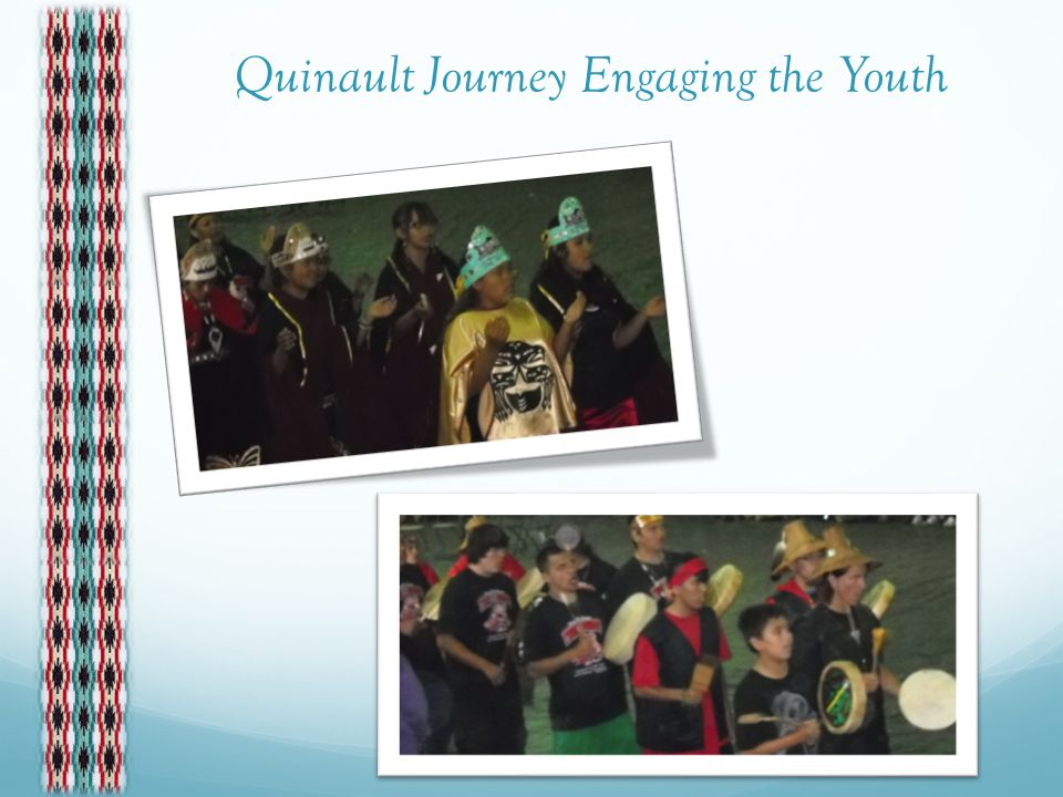 Welcoming Ceremony at Quinault
