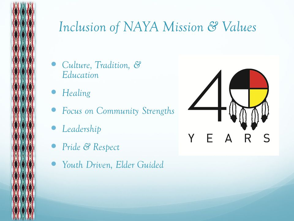 The NAYA Canoe Family Vision Takes Shape 2013