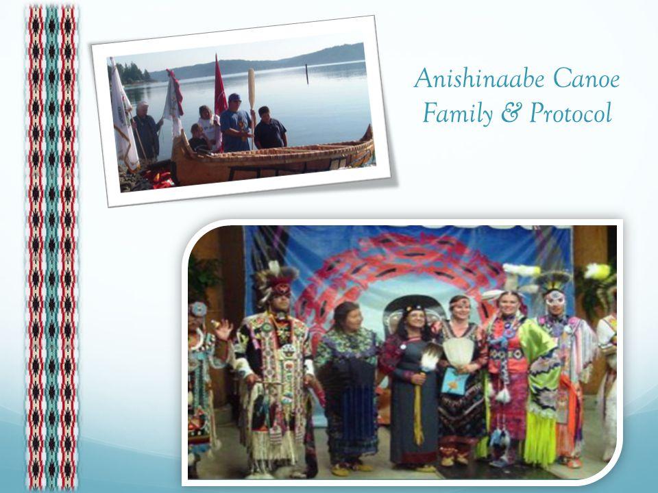 Anishinaabe Canoe Family & Protocol