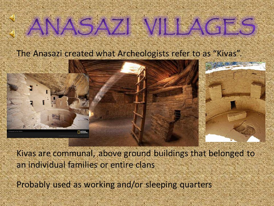 By 1000 AD the Anasazi People were establishing permanent villages Between 1275-1300 AD they had abandoned their Mesa Verde dwellings and moved south, east and west along the Rio Grande River