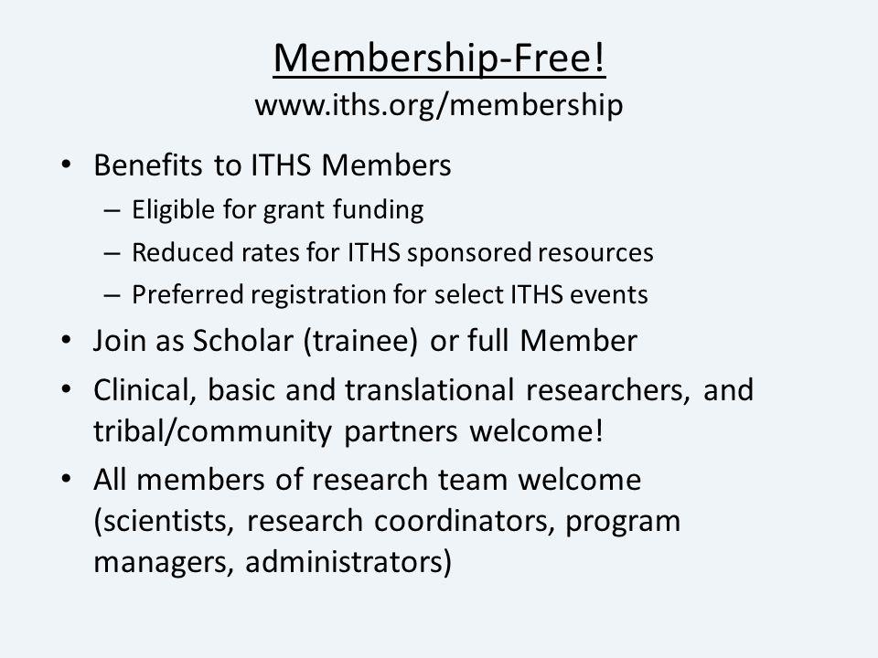 Membership-Free.