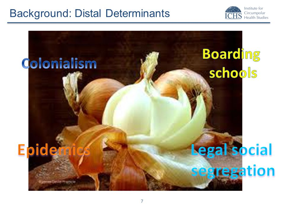 7 Background: Distal Determinants