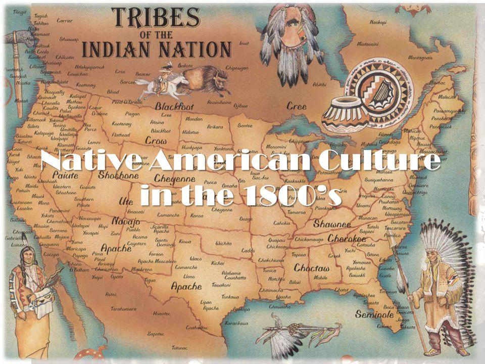 Native American Culture in the 1800's