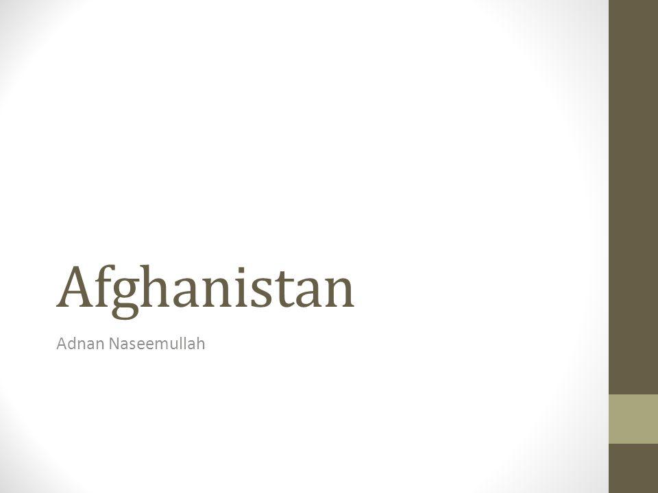 Afghanistan Adnan Naseemullah