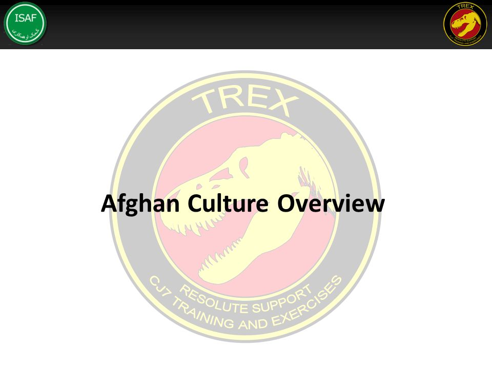 Afghan Culture Overview