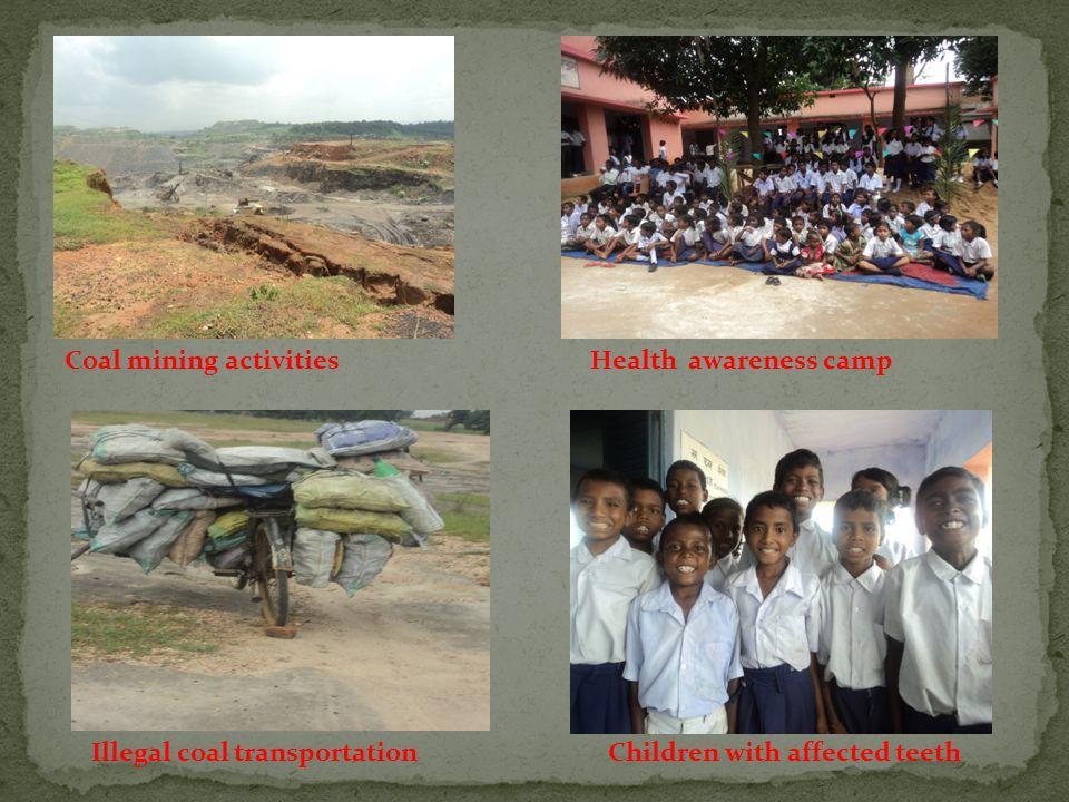 Study Area:  Five sampling stations are Potanga Basti, Jojotola, Murgatola, Garsulla Basti and Bihad Basti of Barkagoan as shown.