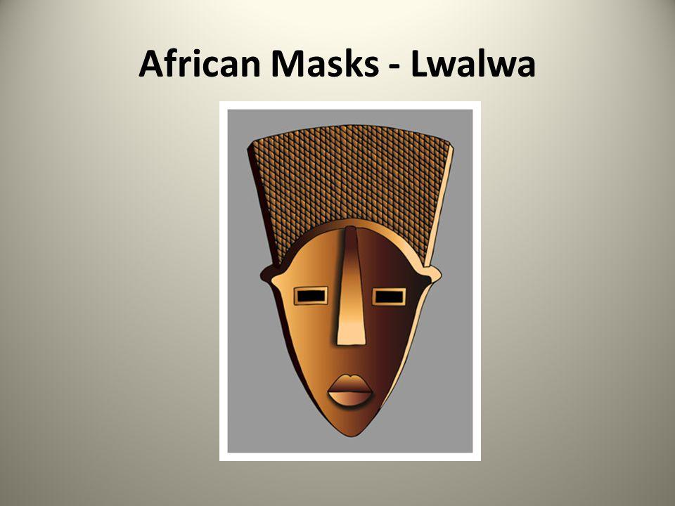 African Masks - Lwalwa