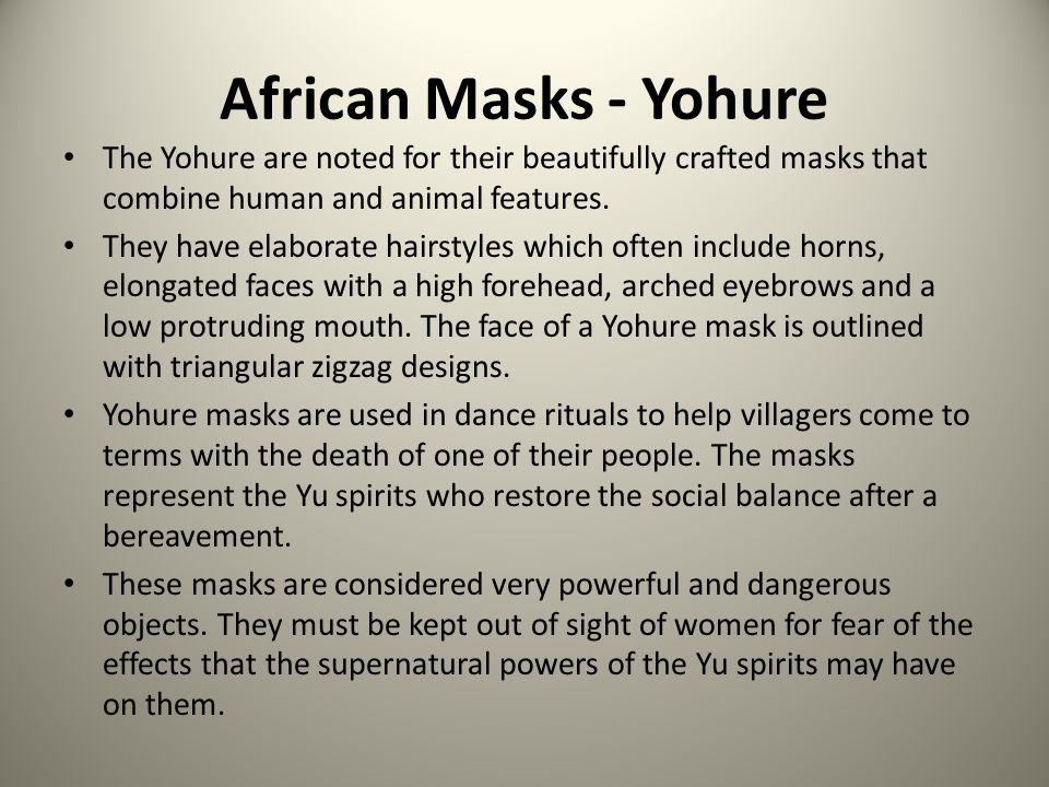 African Masks - Biombo